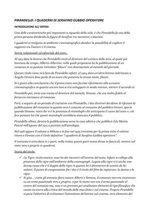 I quaderni di Serafino Gubbio operatore - 27005408 - Unical