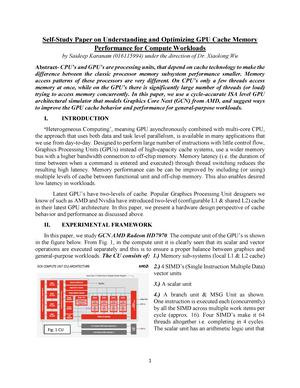 Self-Study Paper - Summary Memory Design and Implementation