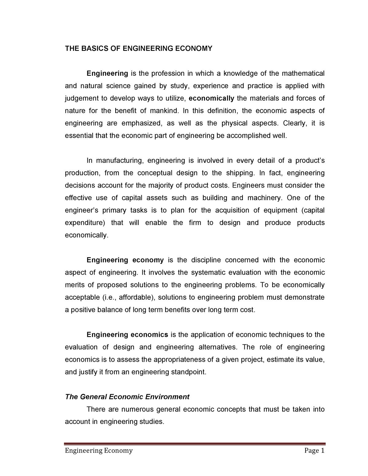 Engineering Economy Solution Manual Engineering Economy Studocu