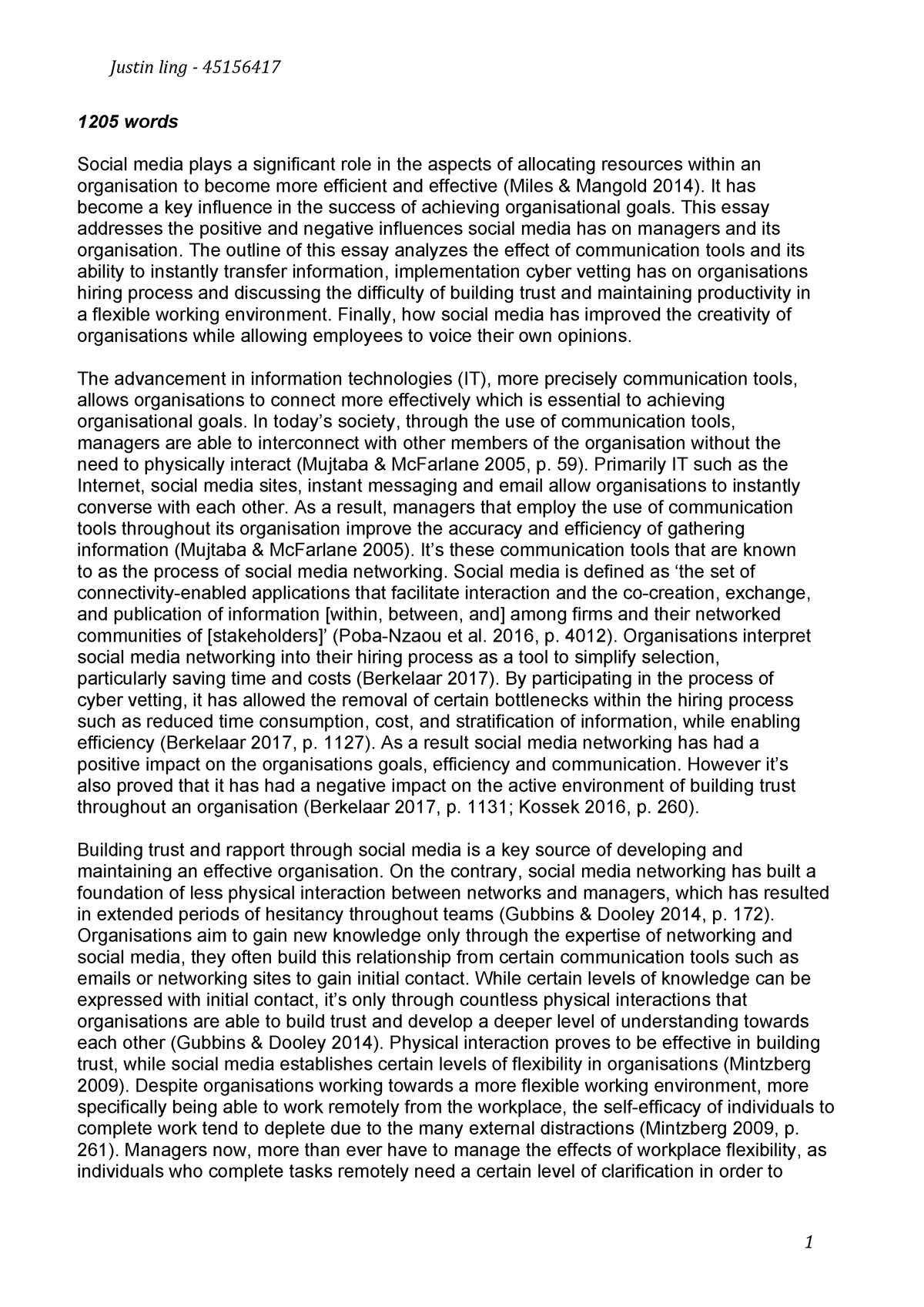 Essay on cyber law