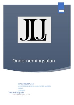 ondernemingsplan adviesbureau Het ondernemingsplan   3100RIB111: Recht in Bedrijf 1   StudeerSnel ondernemingsplan adviesbureau