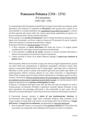 Riassunto Letteraturait 04 Feb 2018 Studocu