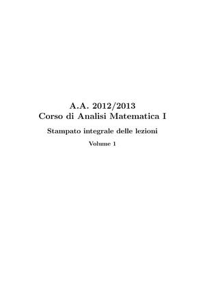 Appunti Lezioni 1 60 A A 2012 2013 Prof Gobbino E3101q100