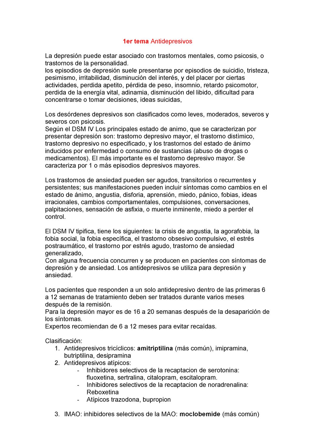 Fluoxetina perdida de peso buprenorfinam