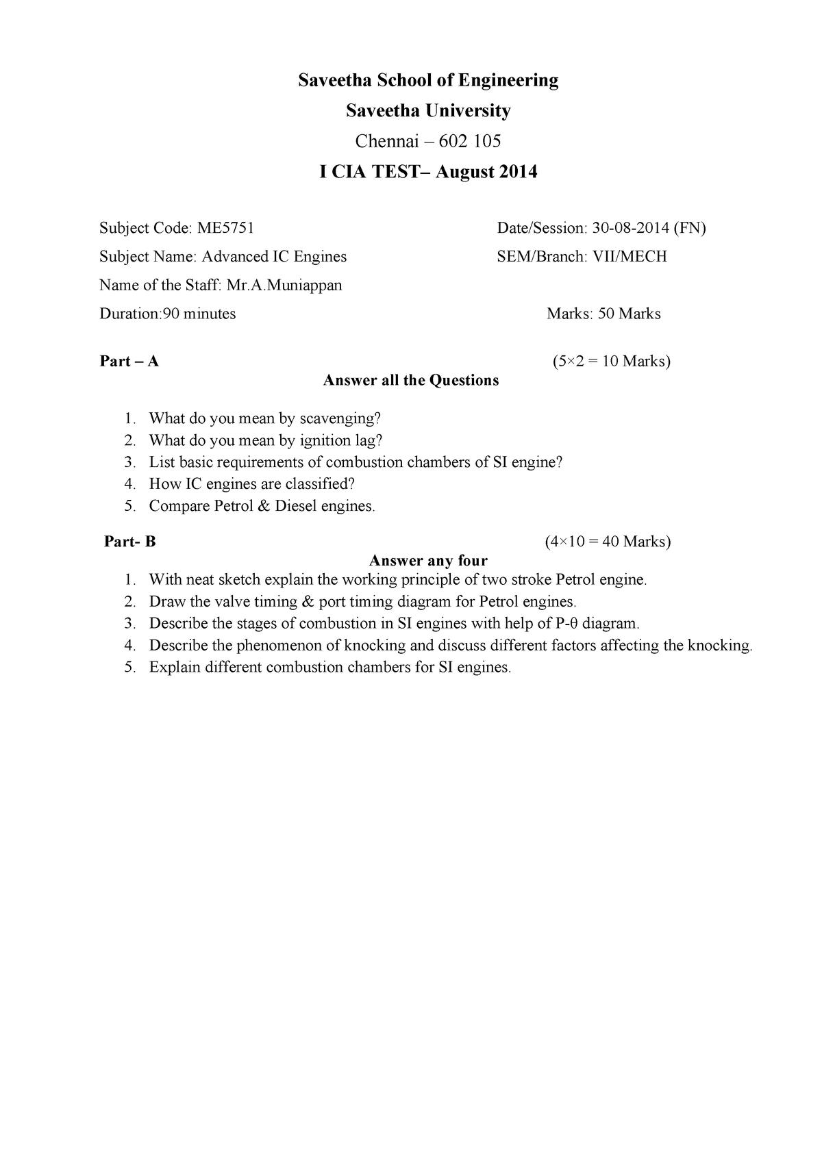Exam 2018 - U18CSL1202: C program - StuDocu