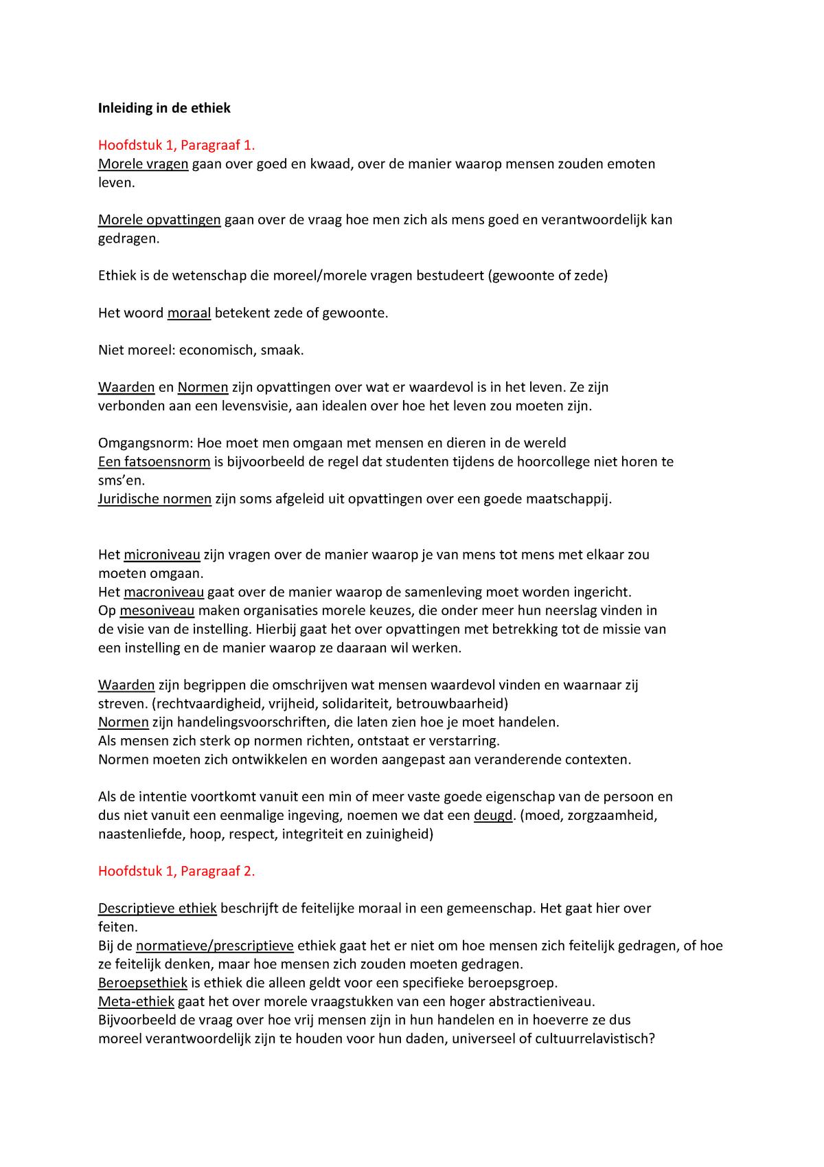Ethiek In Sociaal Agogische Beroepen Mdvh2eth Hanze