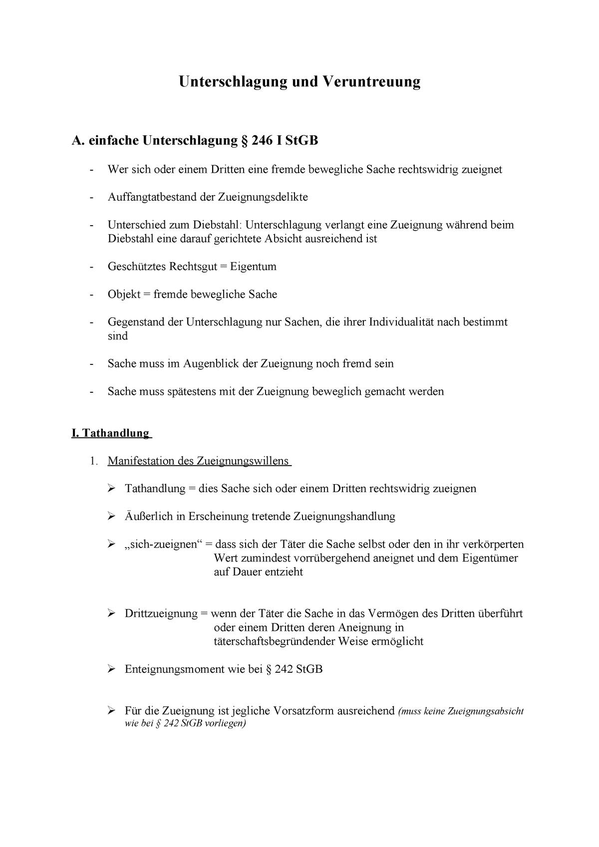 Anzeige Wegen Unterschlagung Was Tun Bei 2