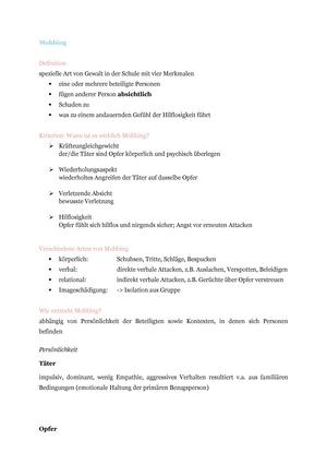 Handouts - Zusammenfassung Pädagogische Psychologie Seminar ...