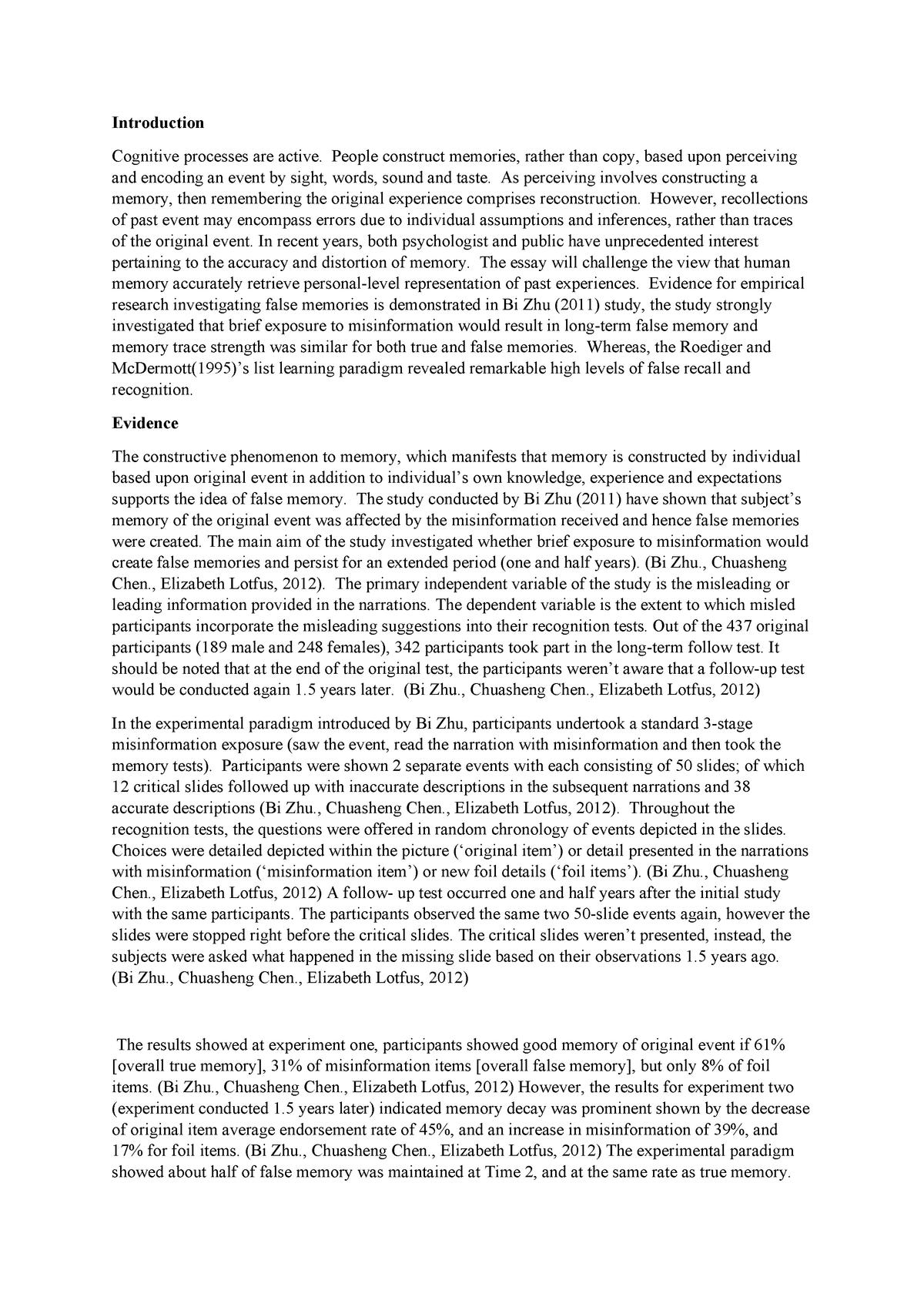 Proper way to write an essay paper