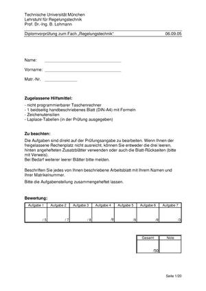 Klausursammlung 2005 - 2012 mit Lösungen - 0820507479 ...