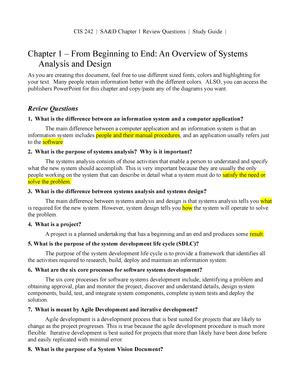 Ch 1 Chapter Review Questions Cis 242 Jccc Studocu