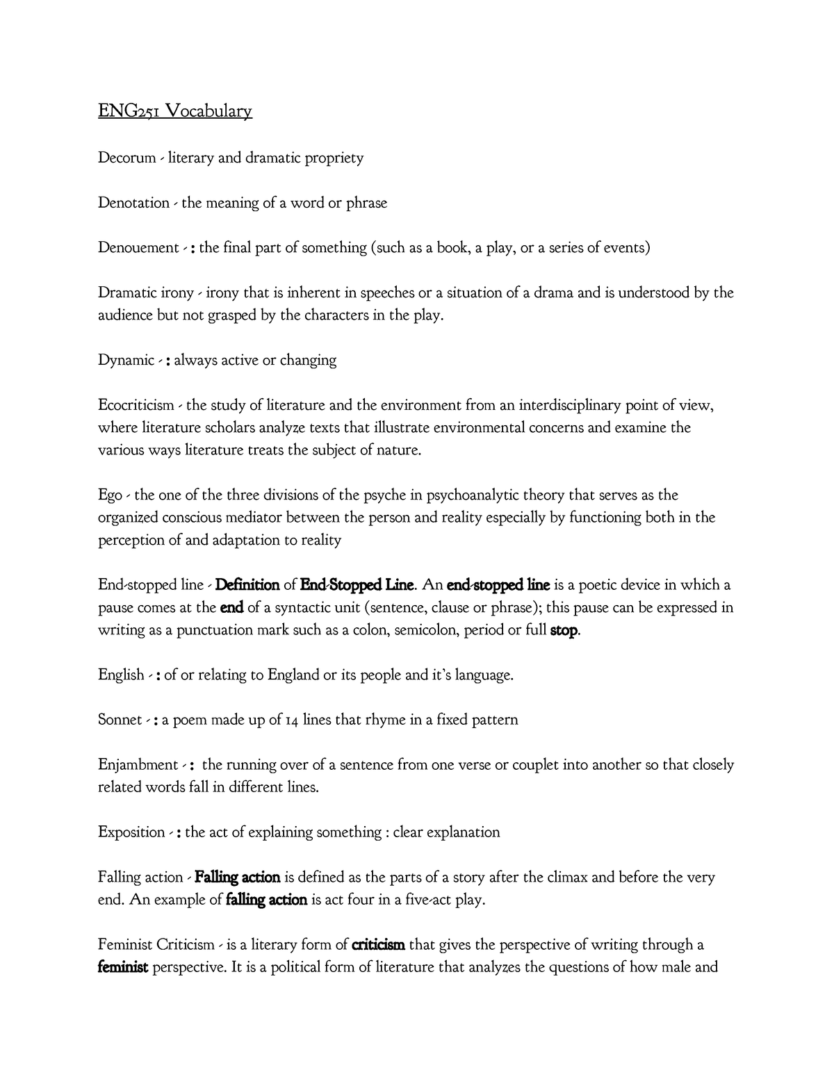 Exam 2016, answers , ENG251 , BYU\u2013Idaho , StuDocu