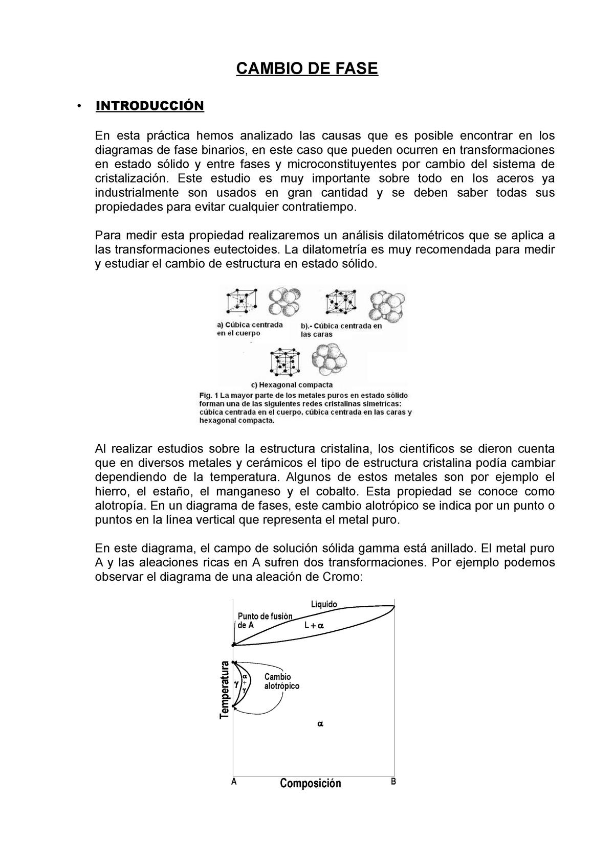 Memoria Práctica 6 Ciencia De Materiales 11411 Upv Studocu