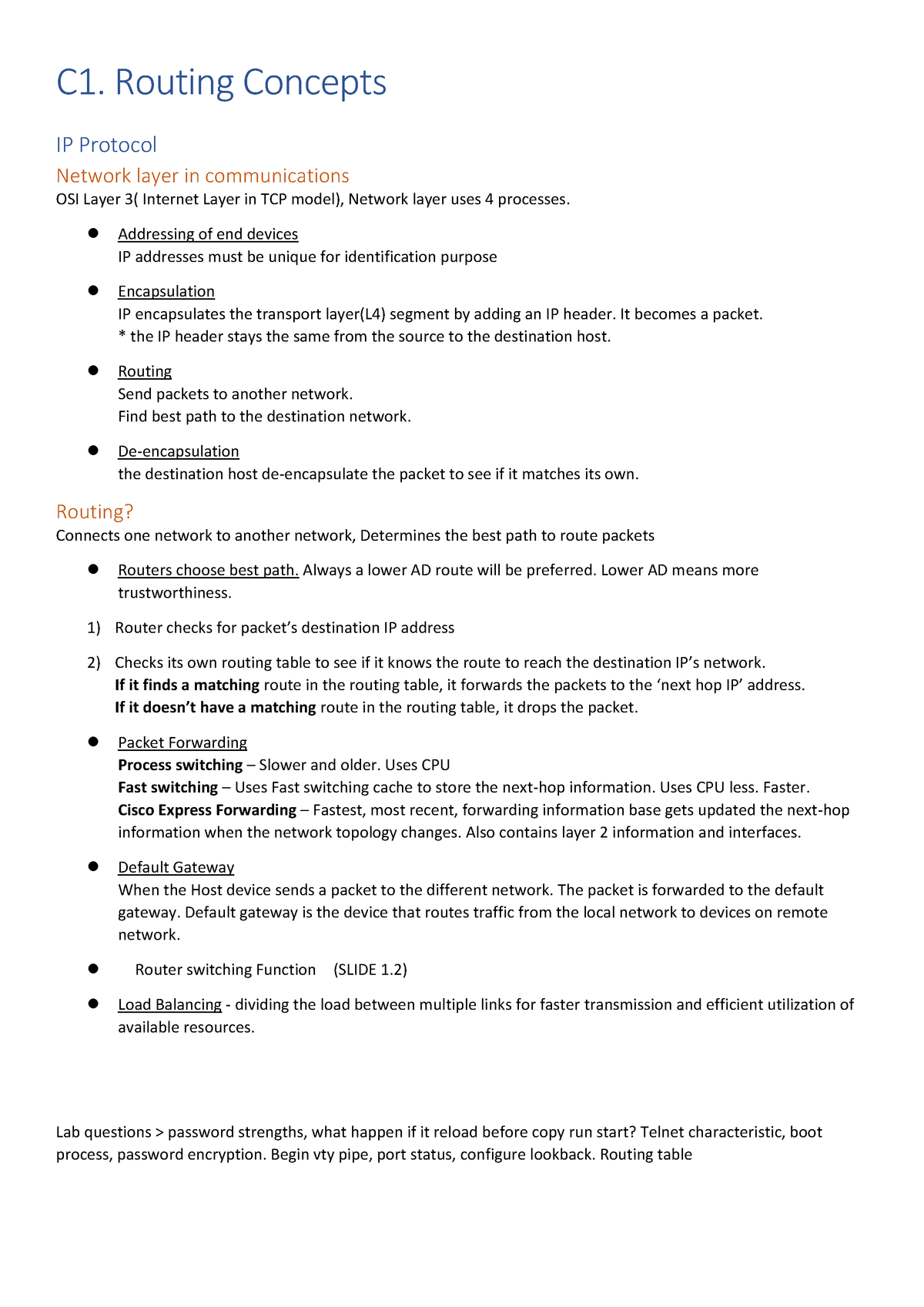 RSE final note - Lecture notes 1-10 - 031269 : Business