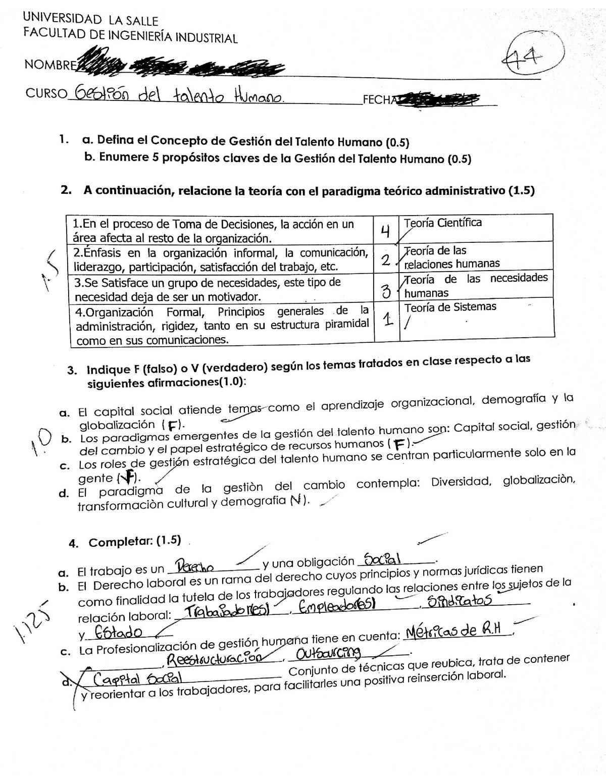 Examen 2019 Preguntas Y Respuestas Unisalle Studocu