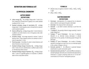 Defn list - Definition list for CIE A-Level Chemistry 9701