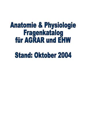 Vorlesungsmitschriften, 491. Fragen + Antworten - BONN019: Anatomie ...
