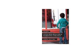 67cd5c4fa57 Consumer Behavior and Marketing Strategy-1 - StuDocu