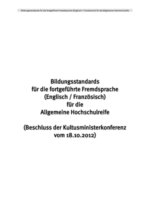2012 10 18-Bildungsstandards-Fortgef-FS-Abi - 71542: Einführung in ...
