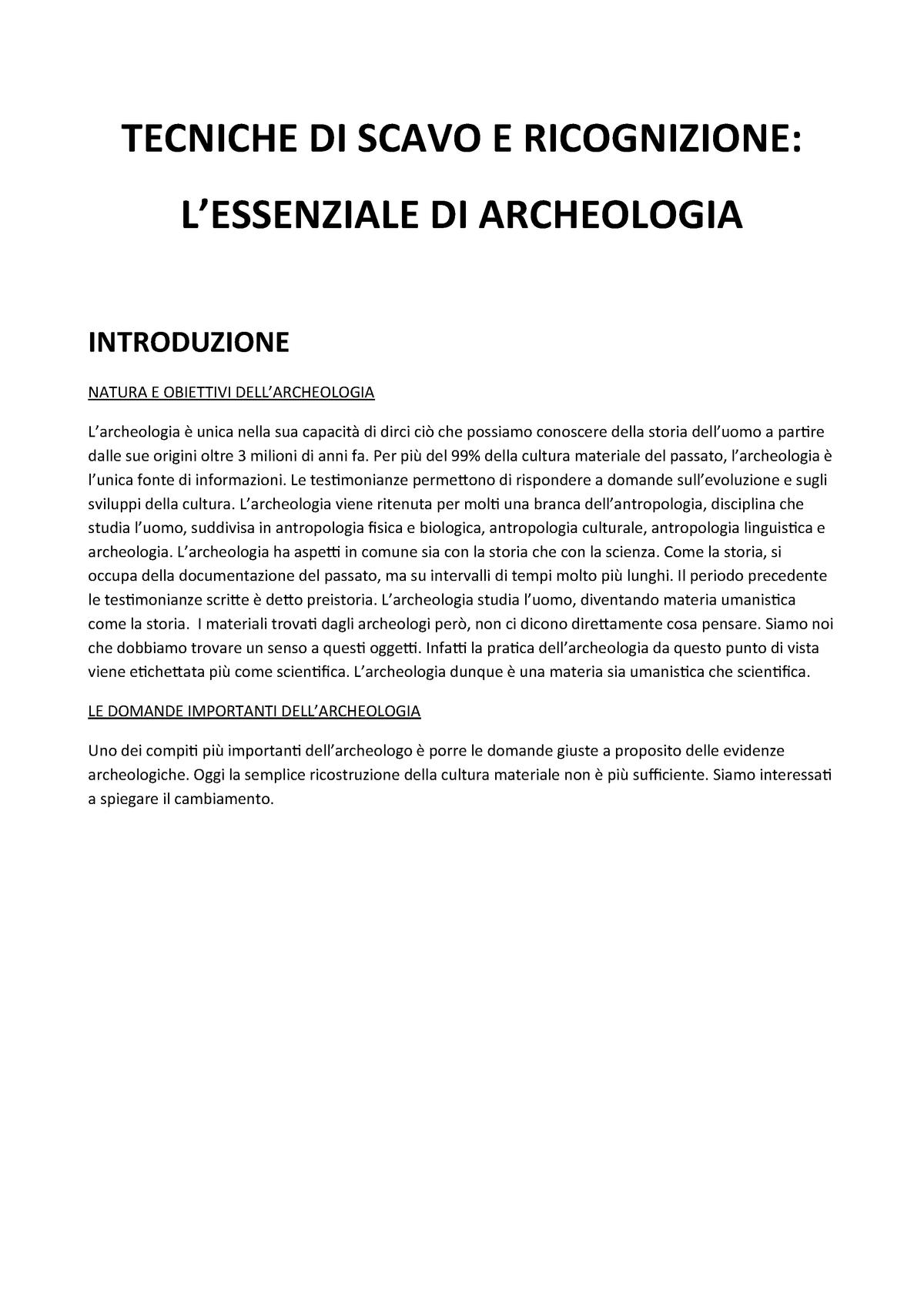Tecnica di datazione stratigrafia