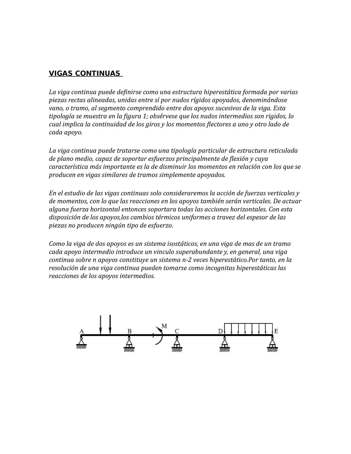 Vigas Continuas Terminado Hornos Metalurgicos Unjfsc