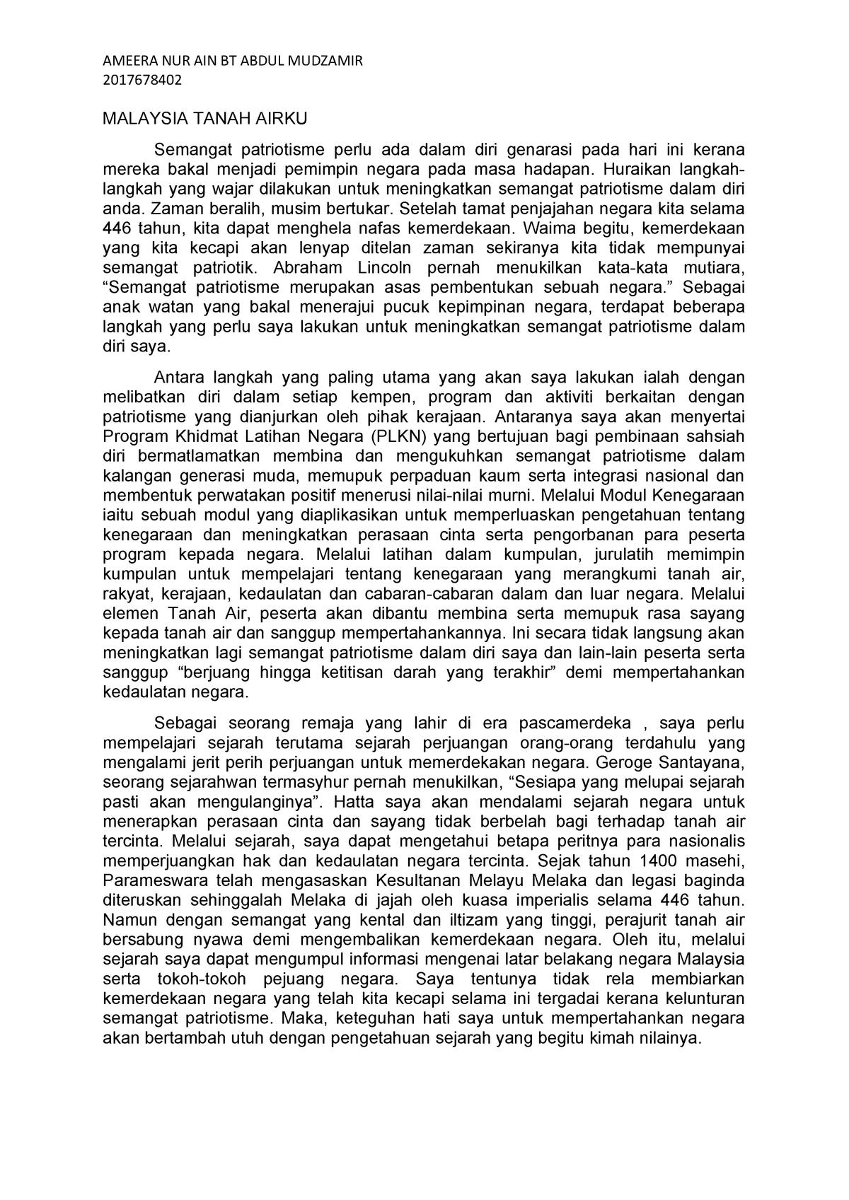 Contoh Karangan Autobiografi Grasmi