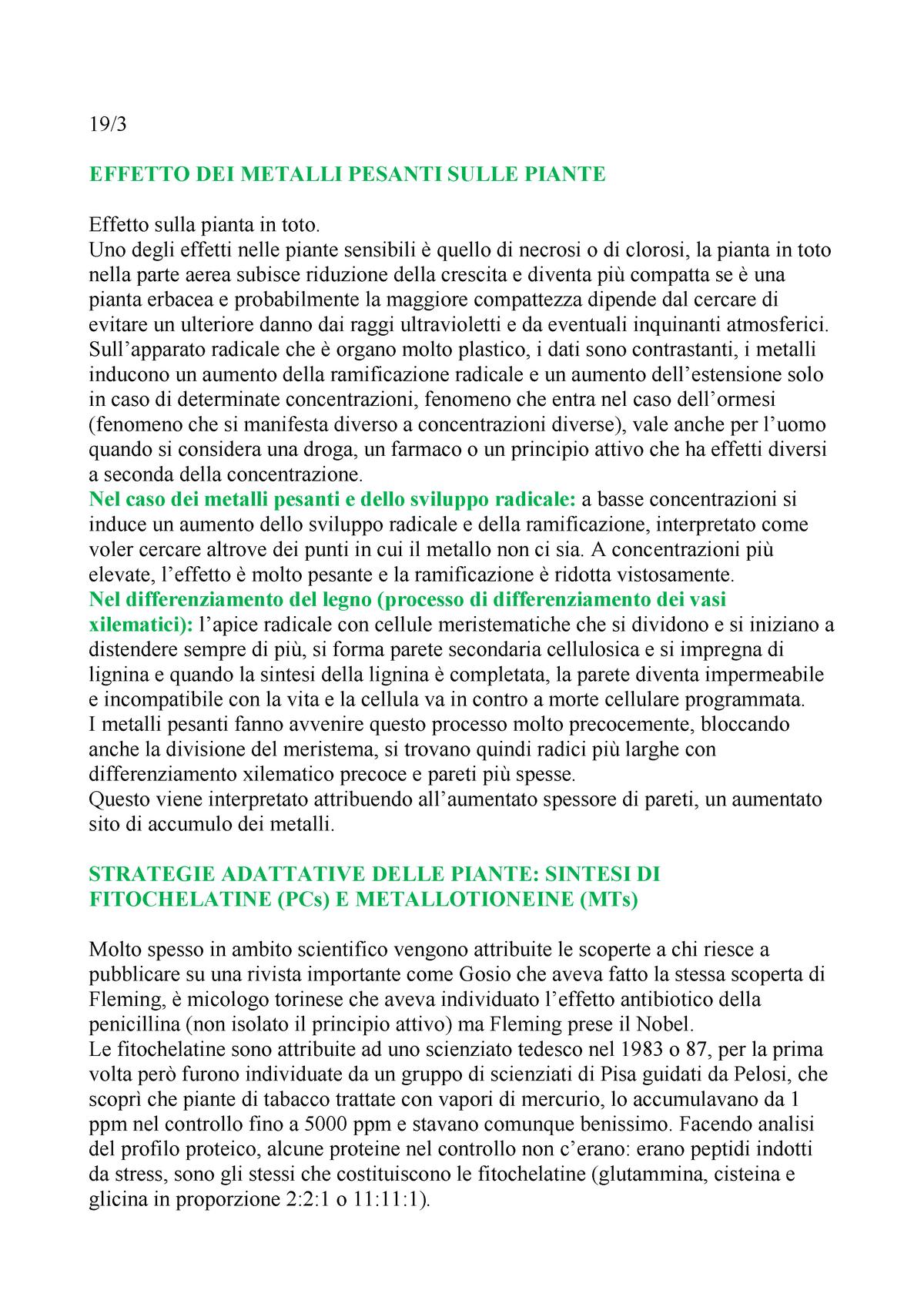 6572899c2f12 Copy of Lezione 3 - 19%2F03%2F18 CON Ultimi DATI - S1577: Botanica Generale  - StuDocu
