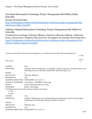 Management information marchewka pdf technology project