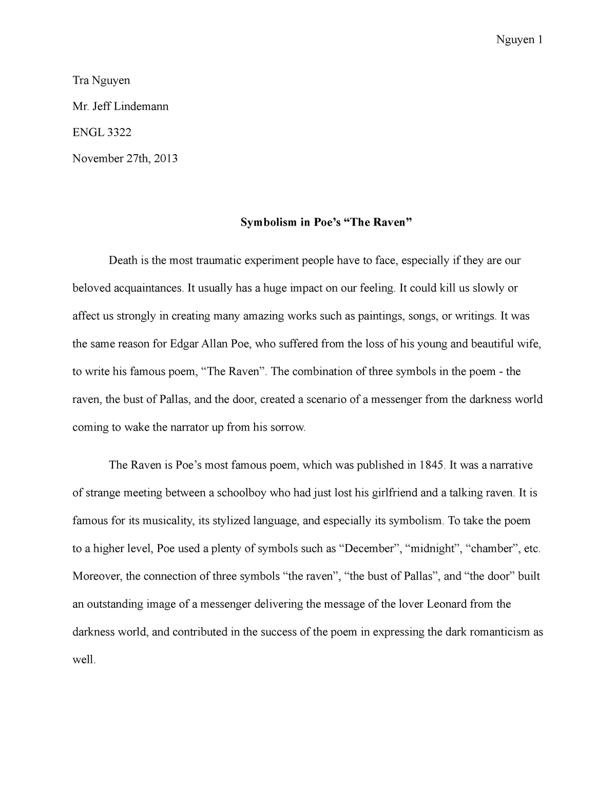 Essay 3 Grade A Eng 3322 Mexican American Literature