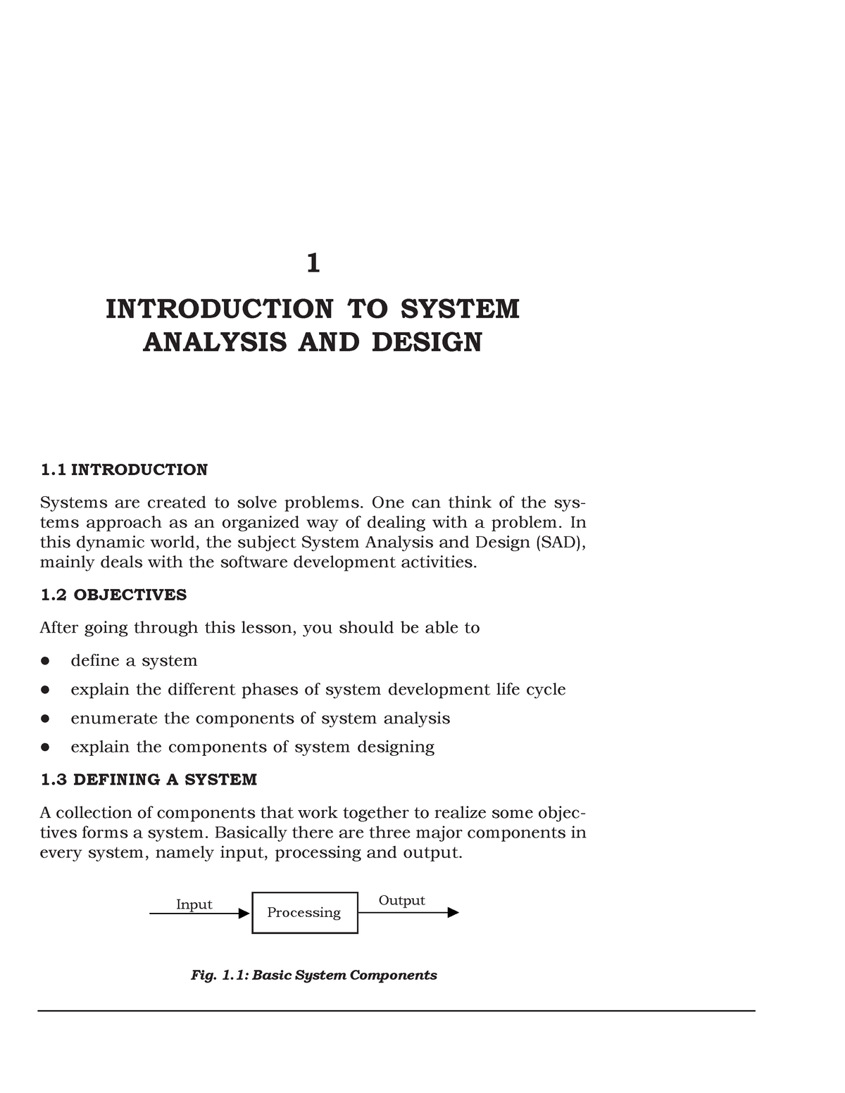 Introduction To System Analysis And Design Fit5130 Studocu