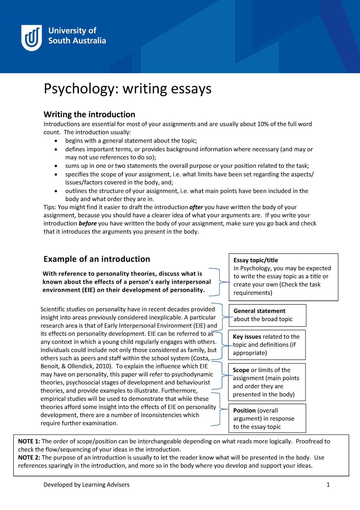 Essay Writing Guide for Psychology Students | Simply Psychology