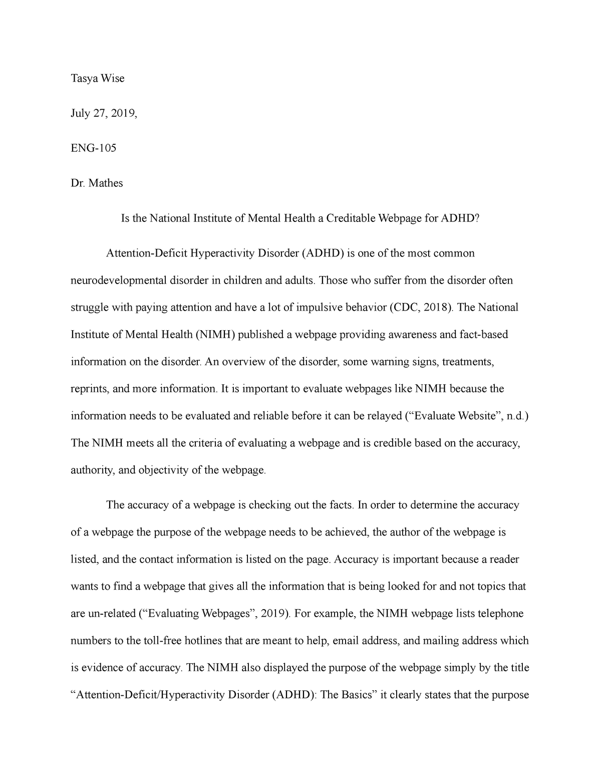 Evaluating a website essay sample cover letter activities director