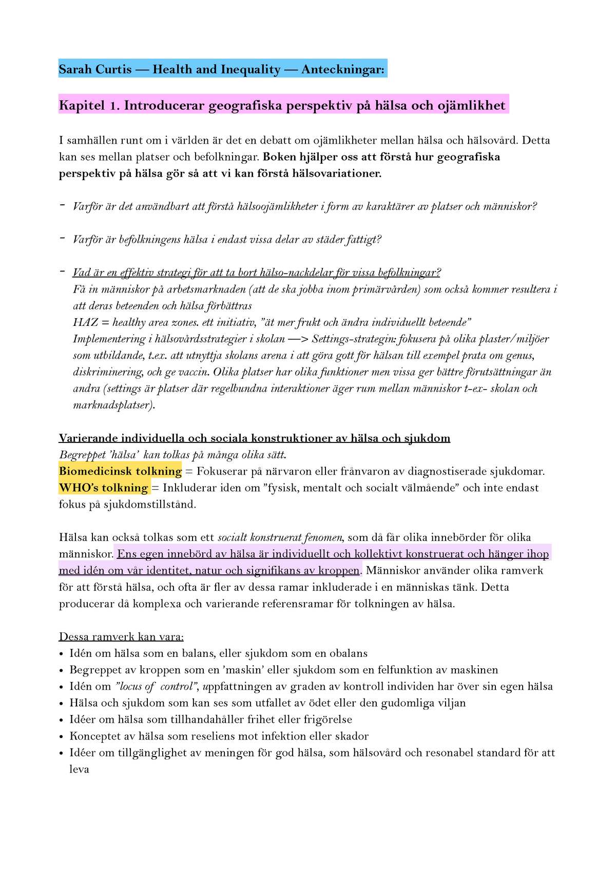 003000a0ce2 Sammanfattning 1572ÖV 1572ÖV 08 Dec 2018 - StuDocu