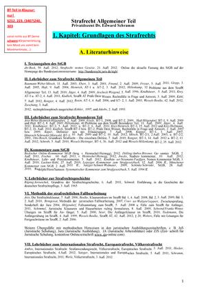 Strafrecht Skript I-X - Mitschriften Vorlesung - JurS200L ...