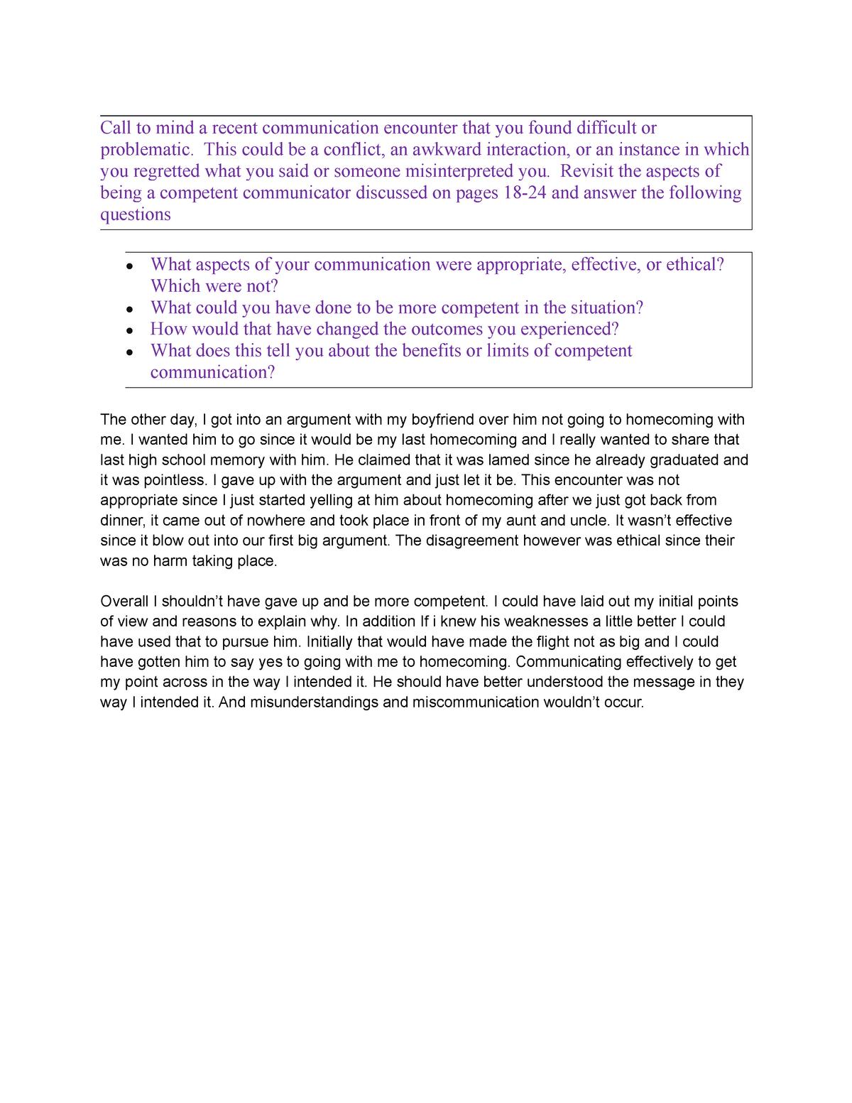 Chapter 1Activity - Mandatory Assignment - SPC 1017