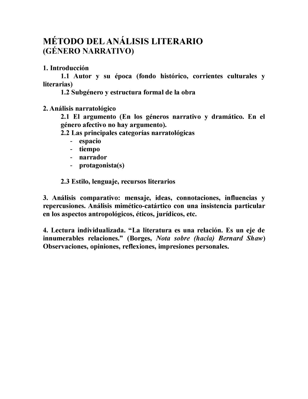 Método De Análisis De Antropologia 360898 Ub Studocu