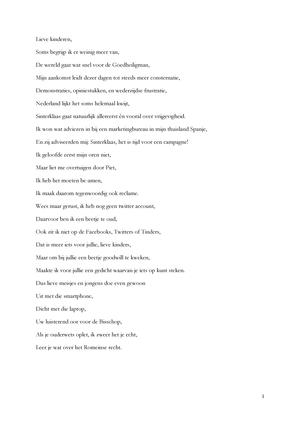 Sinterklaas Gedicht Rechtsgeschiedenis Rgprg00105