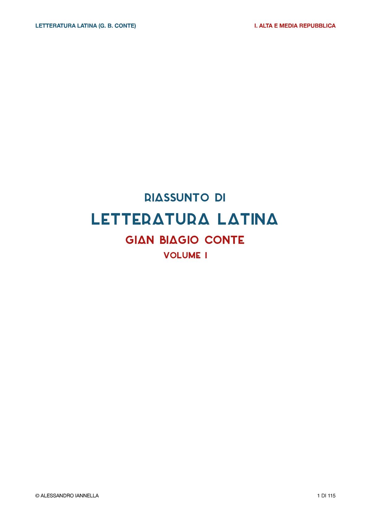 regole per la datazione di una latina