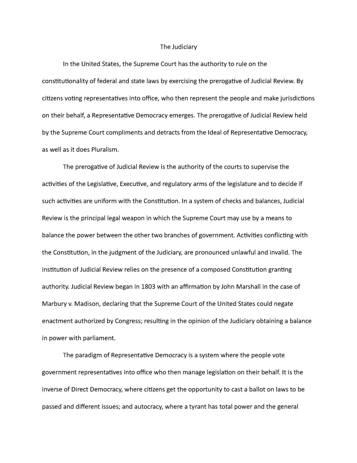 Blackjack essay