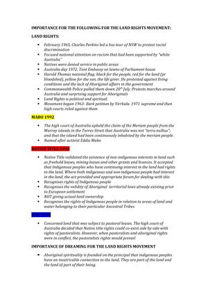 Land RIghts Movements - gsfd d fssfd sf - EDCX377: Religion