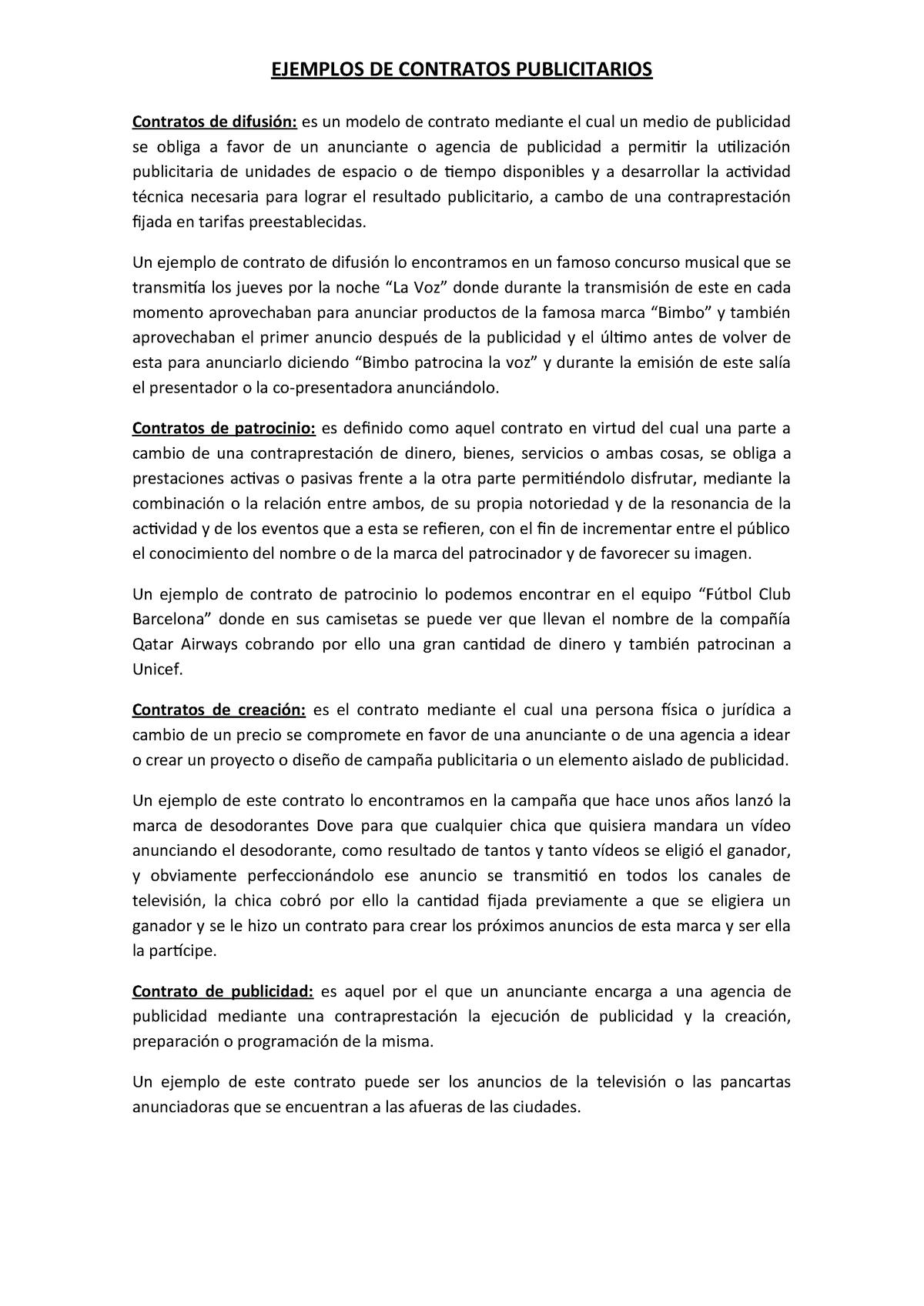 Contratos De Difusión 11212017 Ujaen Studocu