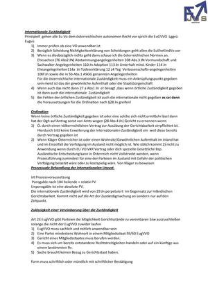Zusammenfassung Gesamter Kurs Zivilgerichtliches Verfahrensrecht