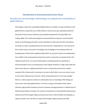 Example Of A College Essay Paper  Analysis Essay Thesis Example also Term Paper Essays Environmental Science Essay Environmental Science Essays Can  Example Of Essay With Thesis Statement
