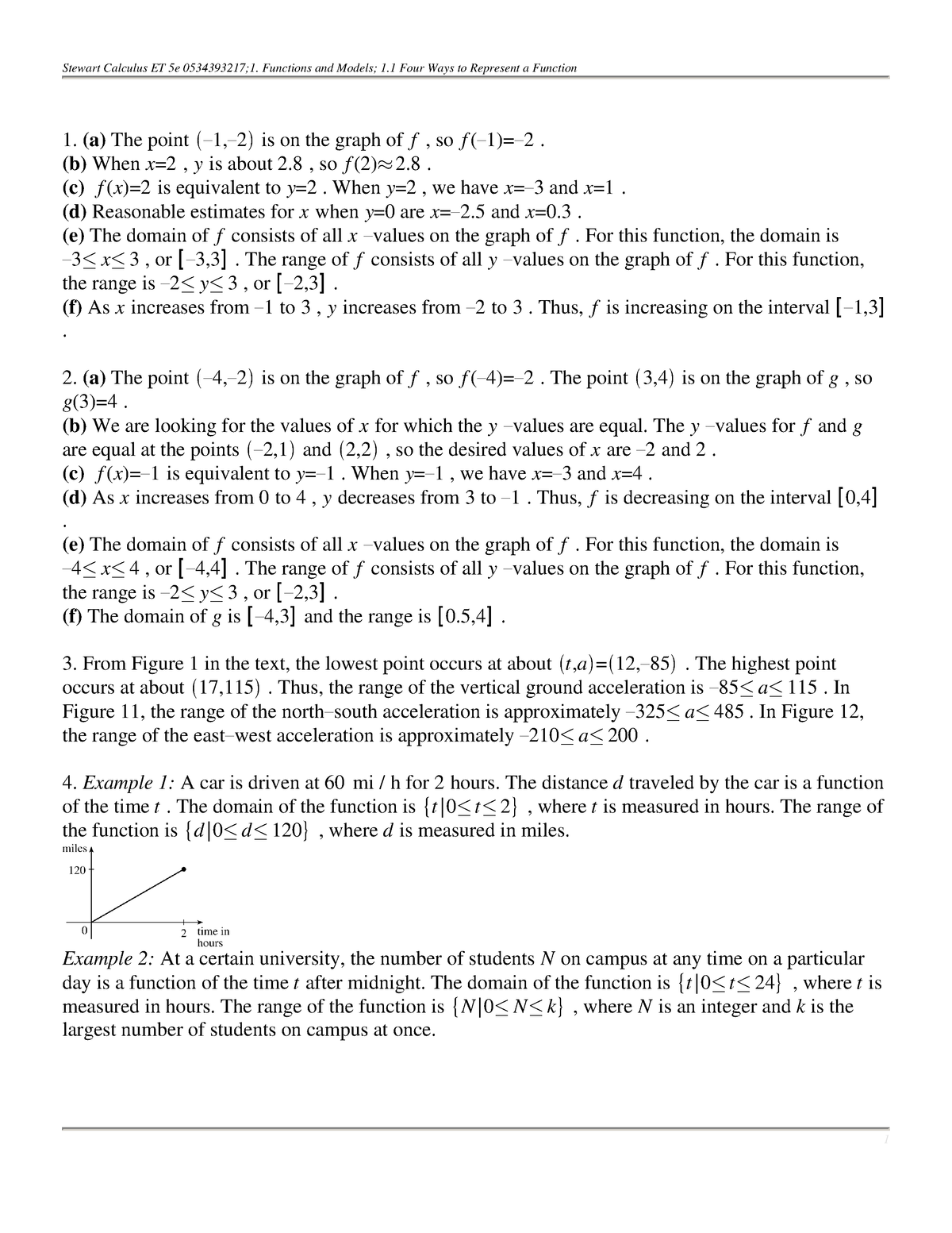 Calculus James Stewart 5th Edition Solutions - IS0155: Wiskunde