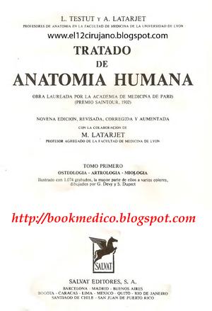 anatomia humana testut pdf