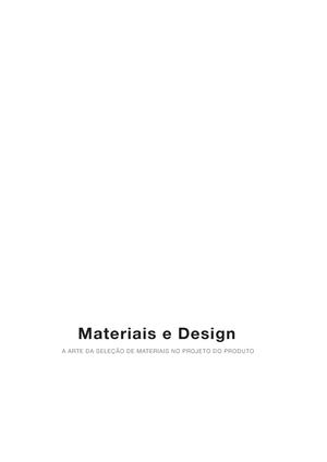 Materiais e Design - StuDocu 9fe221c549a