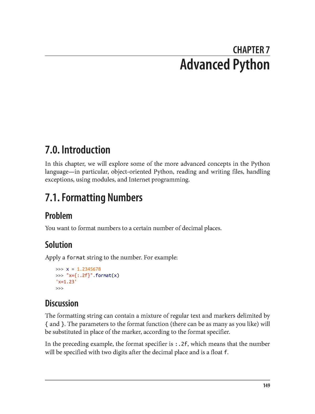 Chapter 07  Advanced Python - CEIS100: Introduction to