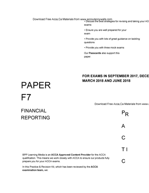 ACCA F7 - Financial Reporting Revision Kit 2017 - Commerce 2 5