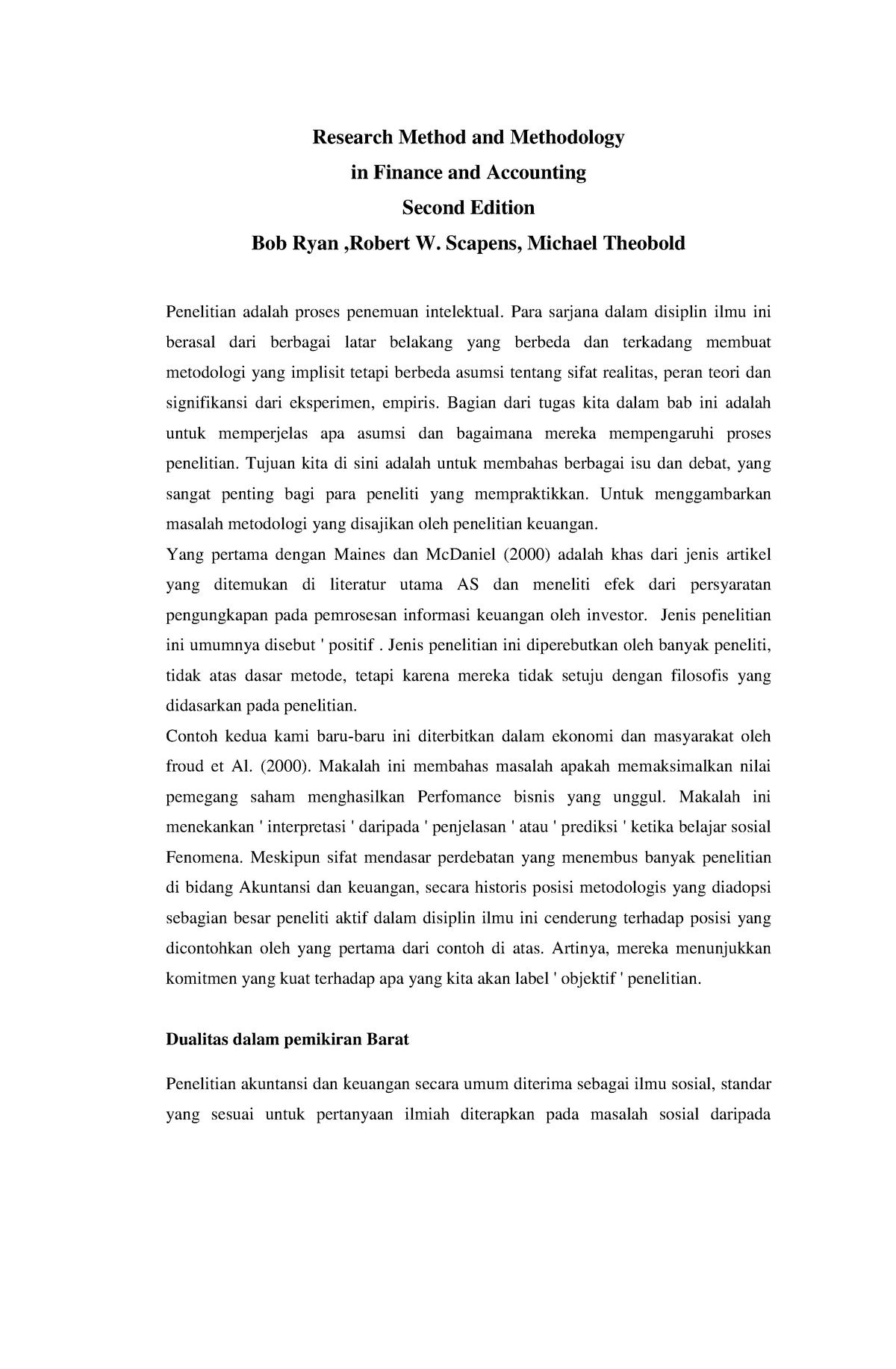 Contoh Penelitian Tentang Akuntansi Guru Ilmu Sosial