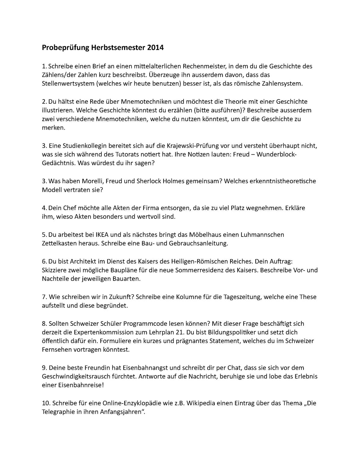 Klausur 2015 Fragen 41856 01 Uni Basel Studocu